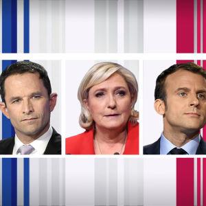 Ranskan presidentinvaalien ehdokkaita
