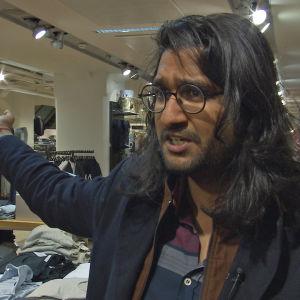 Filmregissören Rahul Jain som gjort dokumentären Machines