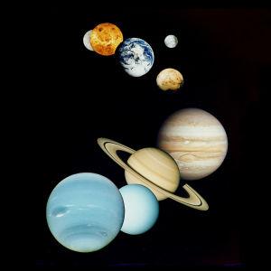 kuva aurinkokunnastamme