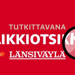 Tekstiä Tapaus Länsiväylä ja klikkiotsikko