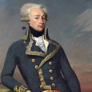 Markiisi de Lafayette (1757-1834). Maalaus Joseph-Désiré Court.