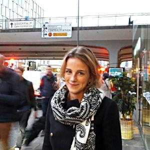 Johanna Backman i Stockholmsvimlet