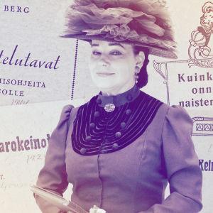 Toimittaja Sini Sovijärvi vastaa avio- ja sukupuolielämän kysymyksiin 1900-luvun alun hengessä.