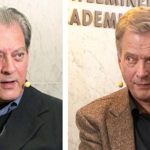 Paul Auster ja Sauli Niinistö