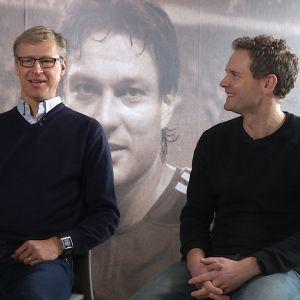 Markku Kanerva och Jonatan Johansson