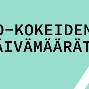 Kuvassa lukee teksti: Yo-kokeiden päivämäärät, kevät 2018