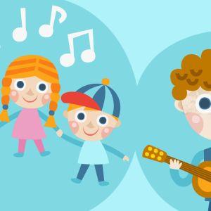 Lapset laulavat.