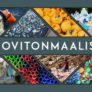 muovitonmaaliskuu -kampanjan banneri
