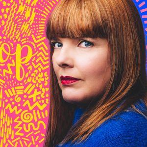 Susanna Vainiolan Popradio, kuvassa toimittaja itse