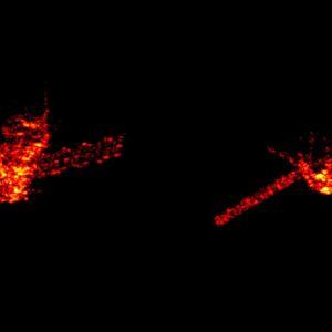 Färska bilder av den nedfallande kinesiska rymdstationen Tiangong 1