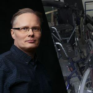 Toimittaja Lauri Miettinen.