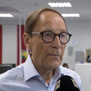 Finlands förra utrikesminister Pär Stenbäck.
