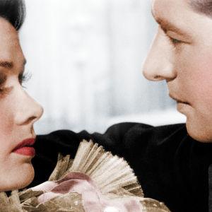 Martha (Gene Tierney) ja Henry (Don Ameche) elokuvassa Taivas odottakoon