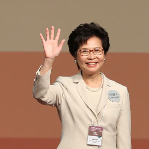 Carrie Lam, Hongkongs nya ledare