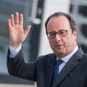 Frankrikes president Francois Hollande