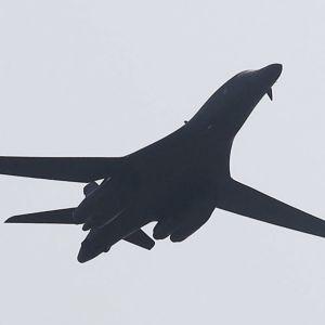 Det amerikanska bombplanet av typen B-1B Lancer.