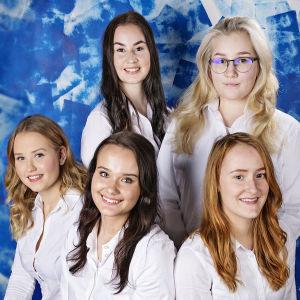 Kandidaterna till Östnylands lucia 2017