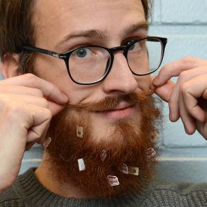 Ett skäggpynt man blir glad av.