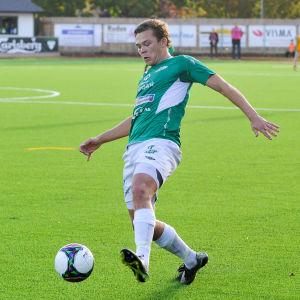 Zacharias Ekström, Ekenäs IF.