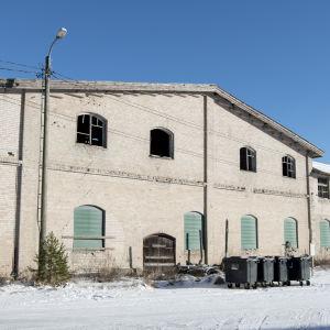 En gammal tegelfabrik i Tvärminne