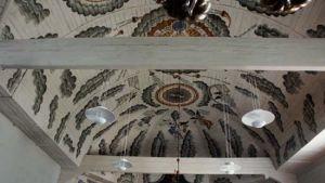 Taket i Nykarleby kyrka