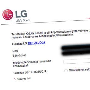 LG:s chattjänst