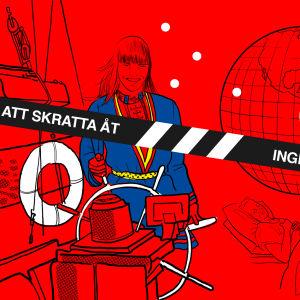 """Illustration för artikel nummer 5 i serien """"Inget att kratta åt"""""""