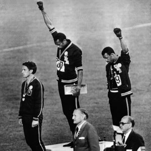 Black Power-demostrationen i Mexiko, 1968