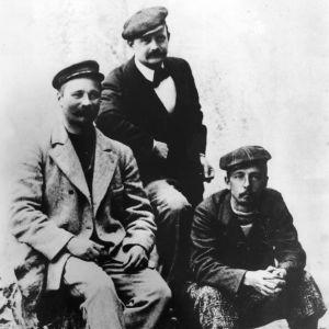 I. K. Inha, Jean Sibelius ja Eero Järnefelt ryhmäkuvassa