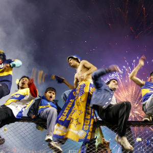 Argentiinalaisille Boca Junioreille Maradona on lähes jumala ja jalkapallo uskonto.