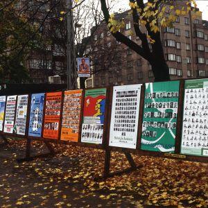 Valaffischer i Helsingfors