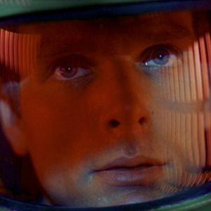 Keir Dullea elokuvassa 2001: Avaruusseikkailu