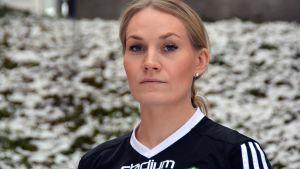 Maria Jukola i Sportmåndag 22.2.2016