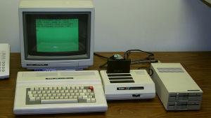 Dator från 1980-talet.