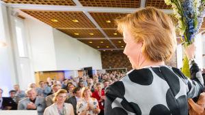 SFP:s första kvinnliga ordförande