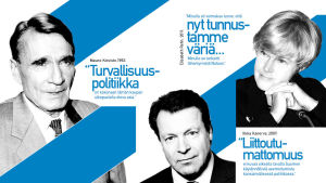 Nostokuva 3 poliitikon Nato-kannoista