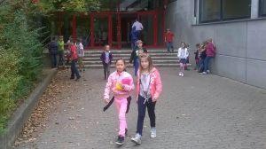 Yngre elever vid tysk skola