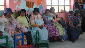 Kvinnor i Bolivia
