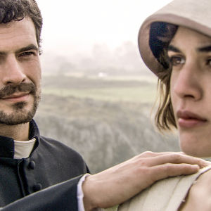 Ángel (Rodolfo Sancho) ja Victoria (Adriana Ugarte) sarjassa La Señora