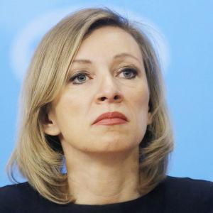 Maria Zakharova på Rysslands utrikesdepartement.