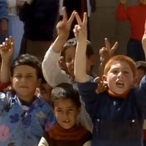 Palestiinalaislapsia Ulkomaanraportissa 1989
