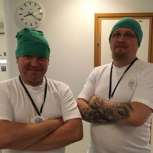 Elossa 24h kuvausryhmä valmistautuu leikkaukseen Helsingissä
