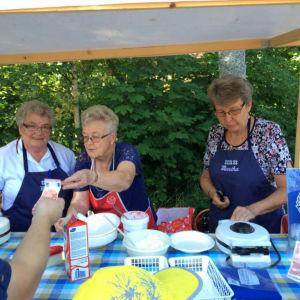 matglädje i Houtskär.