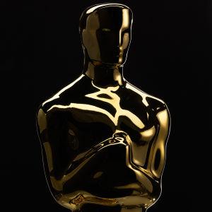 Närbild på en Oscarsstatyett.
