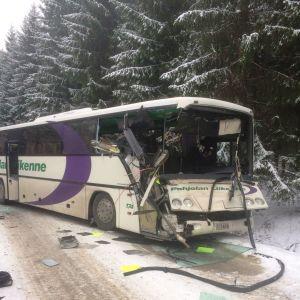 krockad buss