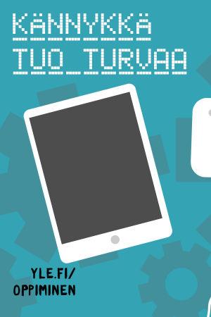 Digitreeni-artikkelin pääkuva, tekstissä Kännykkä tuo turvaa