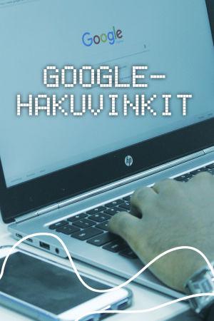 Digitreenien pääkuva. Taustakuvassa tietokoneen näyttö, jossa Google-haku auki.