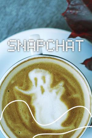 Digitreenien pääkuva. Taustakuvassa kahvikuppi, vaahdossa näkyy haamun hahmo.