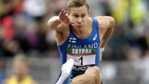 Oskari Mörö, Sverigekampen 2014.