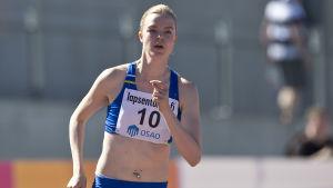 Jonna Berghem, Kalevaspelen 2016.